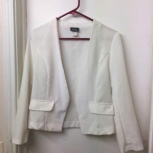 White blazer size medium